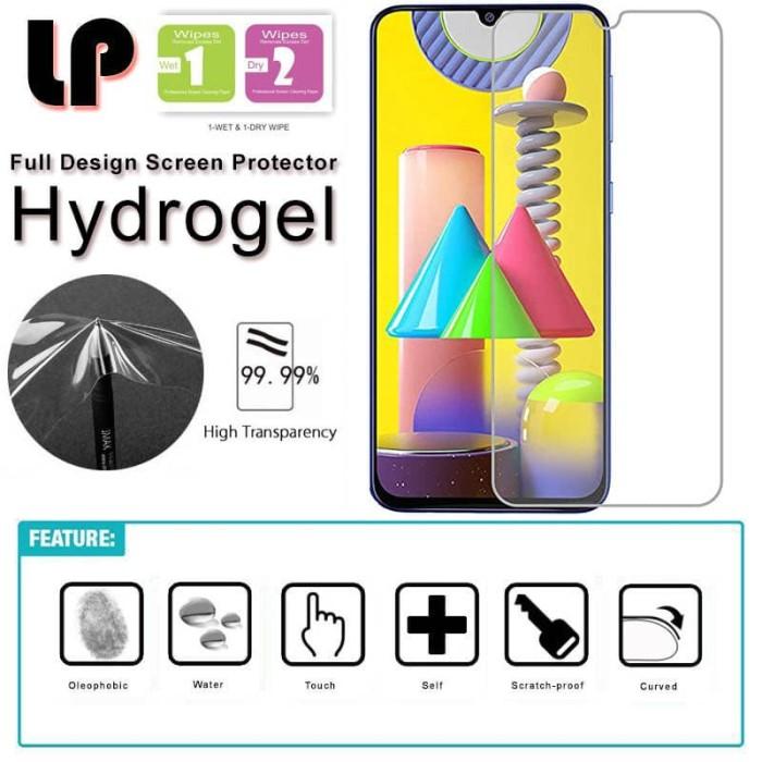 Foto Produk LP HD Hydrogel Screen Guard Samsung Galaxy M21 - Antigores Clear dari Logay Accessories