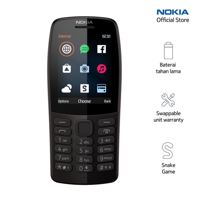 Foto Produk Nokia 210 – Black dari Nokia Official Store
