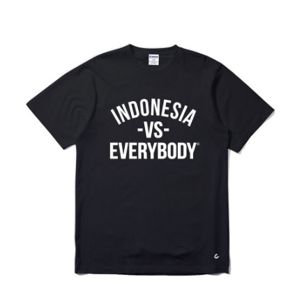 Jual Kaos Tshirt Urbain Indonesia Vs Everybody Black Kab Bogor Distro Xocs Tokopedia