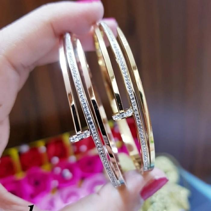 Foto Produk titanium gelang wanita G1243 dari kevin joshe