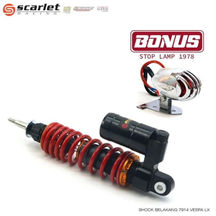 Foto Produk SCARLET RACING shock belakang 7914 VESPA LX Red dari Scarlet Racing