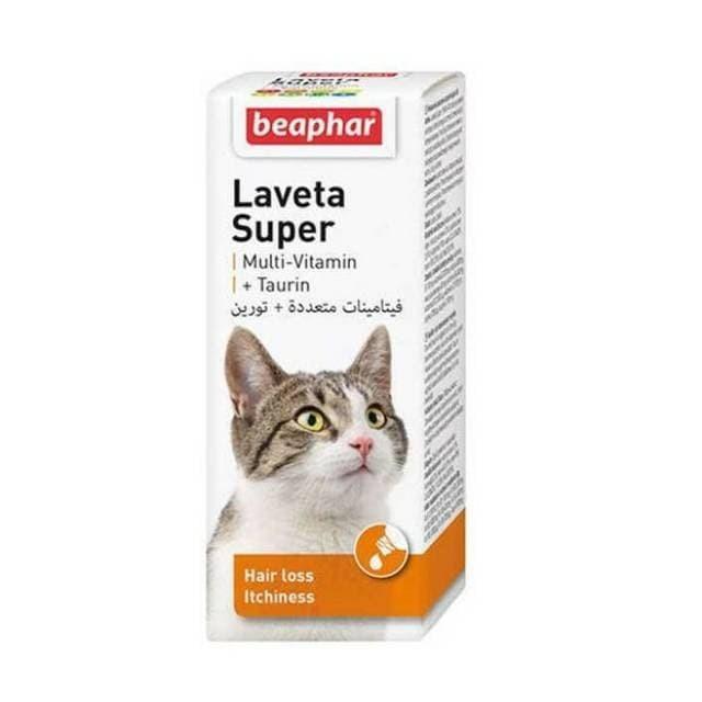 Jual Beaphar Laveta Super For Cats 50 Ml Multivitamin Kucing Kab Malang Tomo Koen Pets Mall Tokopedia