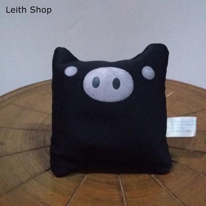 Foto Produk Boneka Monokurobo Hitam Kecil Gantungan Pajangan HP Tas Kunci Ganci dari LeithShop
