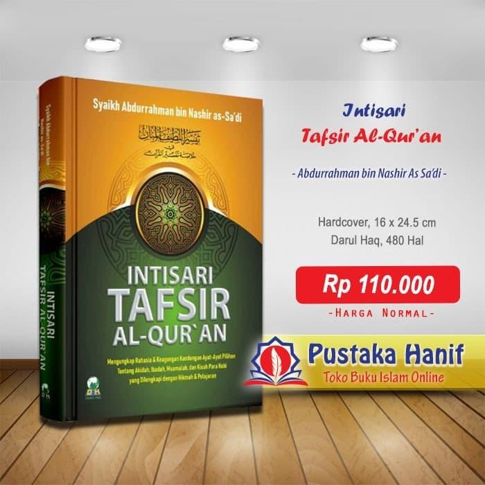 Foto Produk Buku Intisari Tafsir Al-Quran Rahasia Keagungan Ayat Pilihan dari Pustaka Hanif
