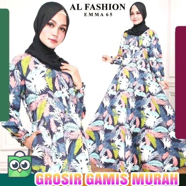 Jual Gamis Katun Monalisa Jumbo Gamis Muslim Murah Maxy Dress Ungu Kab Kudus Grosirgamis Murah Tokopedia