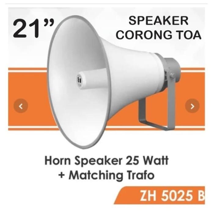 Foto Produk SPEAKER CORONG TOA 21 INCH MESJID TOA BIG HORN SPEAKER - TOA ZH-5025BM dari EtalaseBelanja
