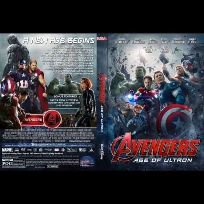 Jual Dvd Kaset Film Avengers Age Of Ultron 2015 Jakarta Barat Passtilaku Store Tokopedia