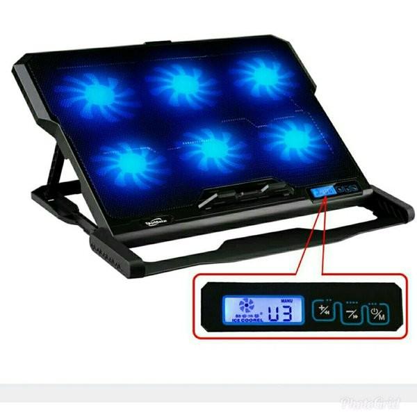 Foto Produk ICE COOREL Cooling Pad Laptop 6 Fan - K6 limited stock dari teguh wacana01
