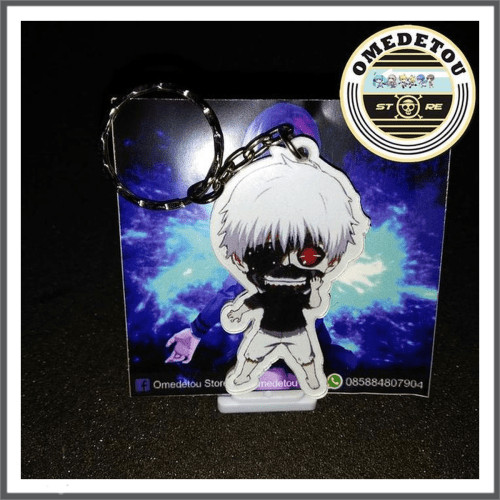 Jual Gantungan Kunci Anime Tokyo Ghoul Ken Kaneki Kota Yogyakarta Lawana22 Tokopedia