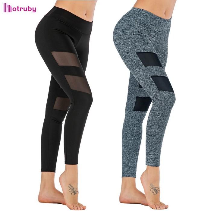 Jual Celana Legging Panjang Wanita Bahan Mesh Untuk Yoga Fitness Jakarta Pusat Altra Land Tokopedia