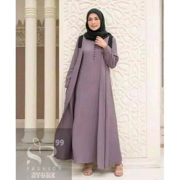 Jual Baju Busana Muslim Wanita Dewasa Baju Gamis Syari Cewek Dress Muslim Jakarta Barat Nevanty Store Tokopedia