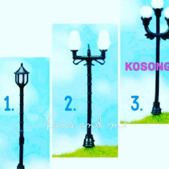 Jual Miniatur Lampu Taman Kota Depok Alib Store874 Tokopedia