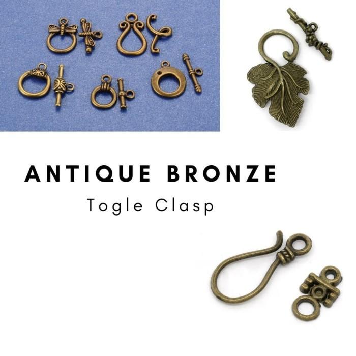 Foto Produk Togle Clasp Antique Bronze VARIAN MODEL - 2 dari Studio Manik
