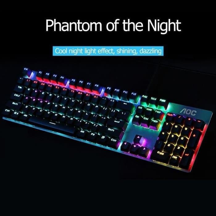 Foto Produk Keyboard Gaming Mechanical AOC GK410 dari haga komputer