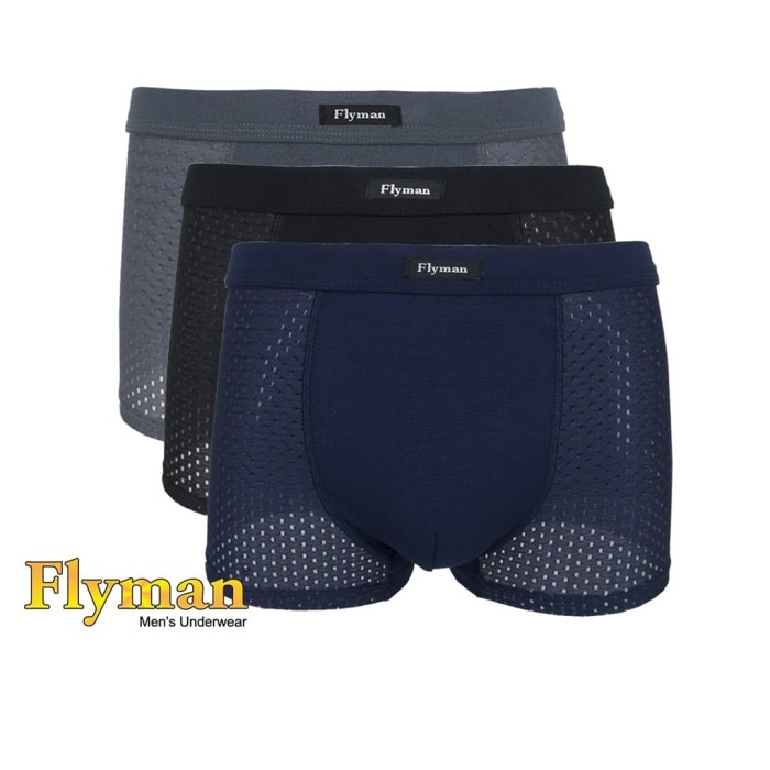 Foto Produk Boxer Pria Dewasa FM 3244 - XXL dari Flyman Nathalie Store