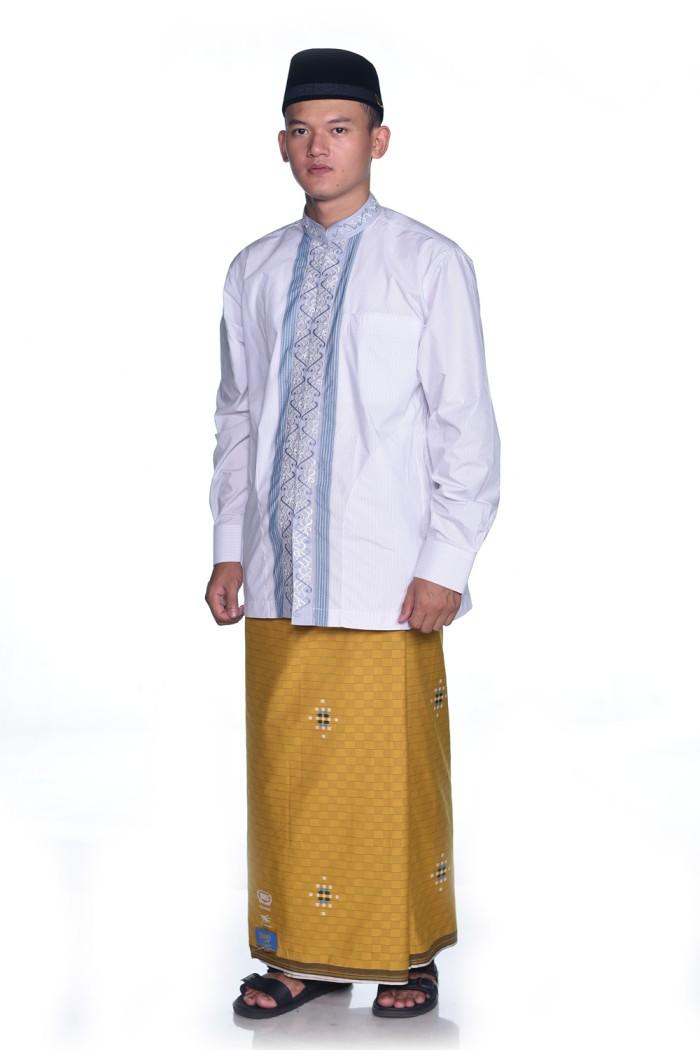 Foto Produk Sarung BHS Gold Classic motif Songket DAM Kuning dari Sarung BHS Official
