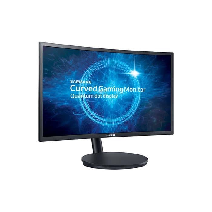 Foto Produk Samsung C24FG70 24 Inch FHD 1ms 144Hz Freesync Curved Gaming Monitor dari Flazz Computer Pekanbaru