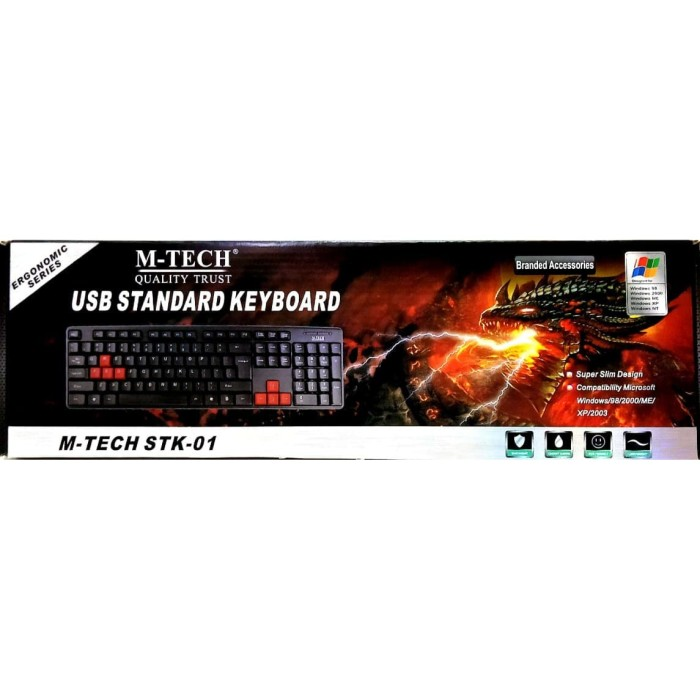 Foto Produk Keyboard USB M-TECH STK-01 dari officemart