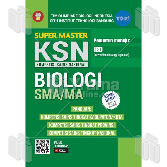 Foto Produk BUKU OLIMPIADE SUPER MASTER KSN BIOLOGI SMA/MA - PENUNTUN MENUJU IBO dari Yrama Widya Online