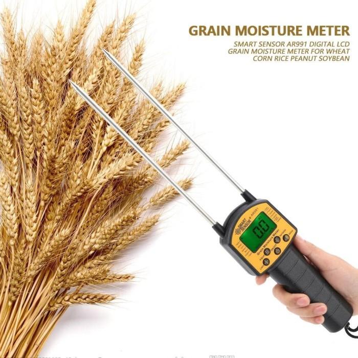 Foto Produk Grain Moisture Meter AR991 Smart Sensor MC Tester AR 991 padi kacang dari HRDIK