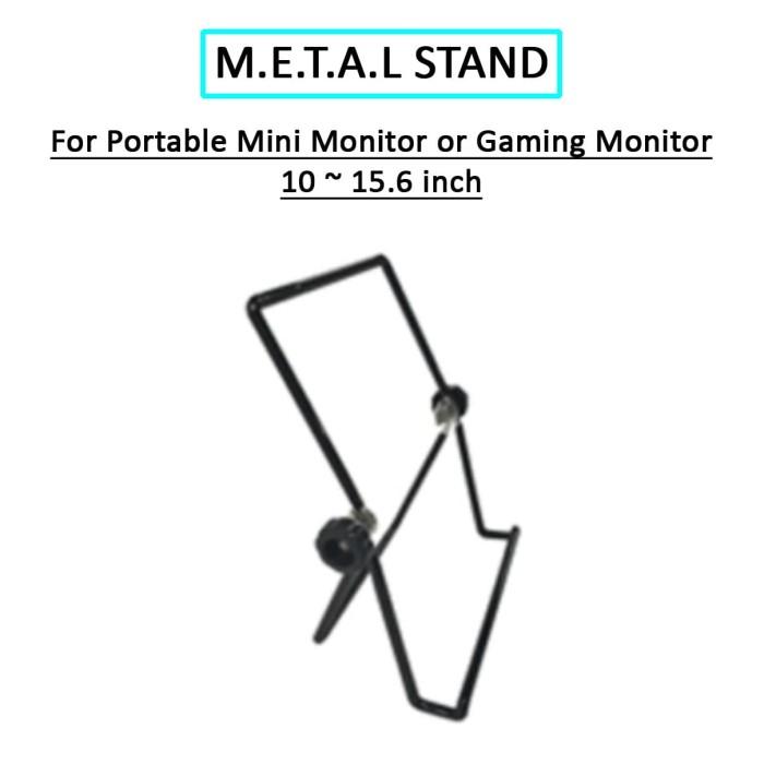 Foto Produk METAL STAND FOR PORTABLE MINI MONITOR OR GAMING MONITOR dari EtalaseBelanja
