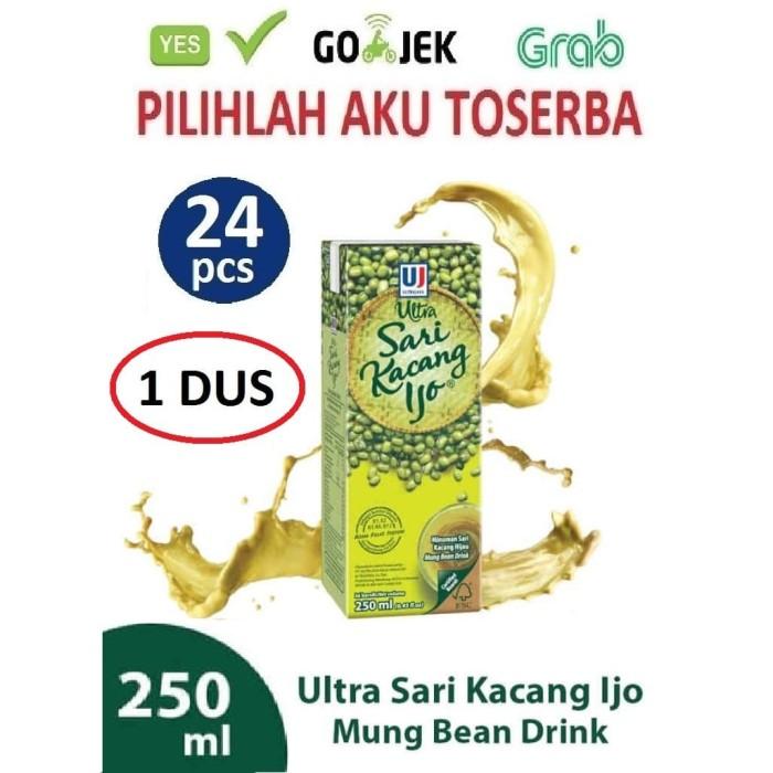 Foto Produk ULTRA SARI KACANG IJO 250 ml - 1 DUS ISI 24 pcs dari Pilihlah Aku Toserba