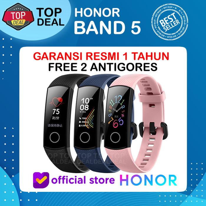 Foto Produk Huawei Honor Band 5 Alt Smartwatch Mi Band 4 Iwown Huawei Band 4 - Hitam dari Top Deal