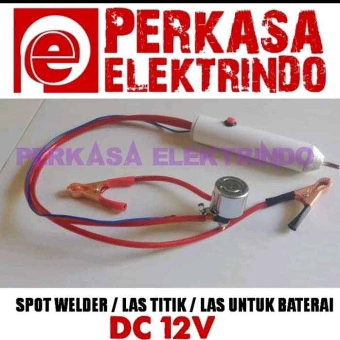 Jual Alat Las Spot Welder Atau Las Titik Atau Las Baterai Kab Banyuwangi Perkasa Elektrindo Tokopedia