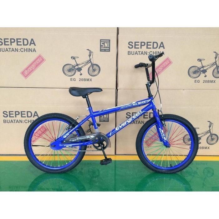 Jual Sepeda Bmx Evegreen 20 Jari Jari Warna Jakarta Selatan Shop Arvel Tokopedia