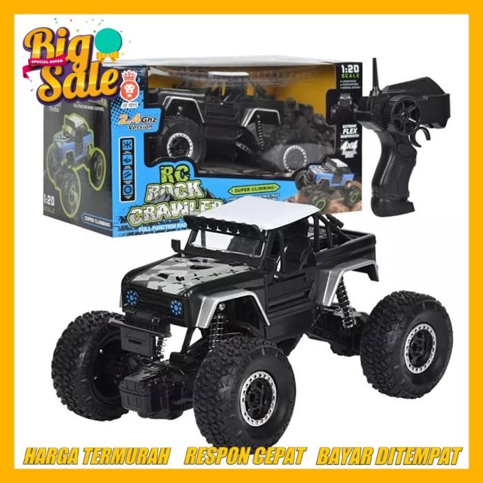 Jual Mobil Remot Rock Crawler Jeep Offroad 2 4ghz Mobil Rc Remote Control Biru Jakarta Utara Selera Kita Semua Tokopedia