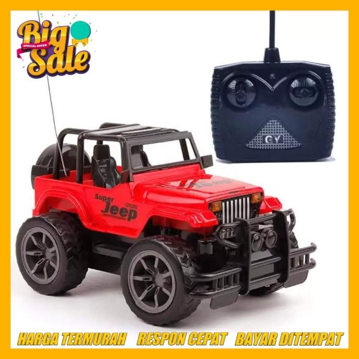 Jual Mobil Remot Rc Mainan Anak Super Jeep 4ch Mobil Mainan Rc Remote Merah Jakarta Utara Selera Kita Semua Tokopedia