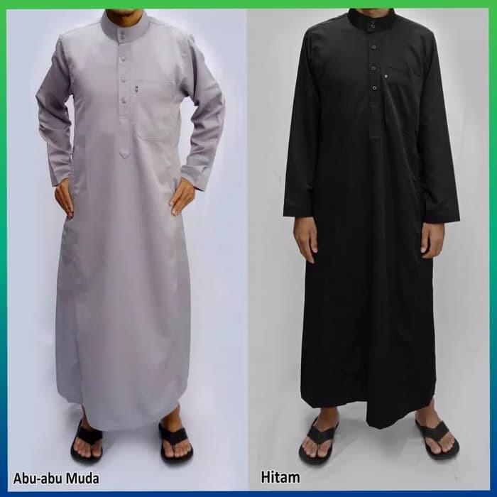 Jual Baju Muslim Gamis Pria Jubah Arab Kemeja Hem Gamis Pakistan Abu Muda Kota Surabaya Mommyyumyum Tokopedia