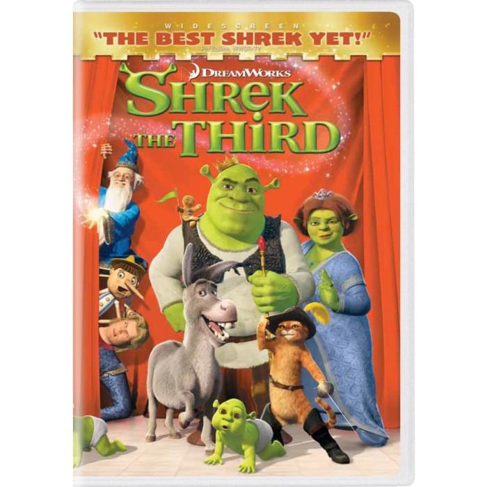 Jual Dvd Film Animasi Shrek The Third 2007 3 4 Kab Bandung Gunadi S Tokopedia