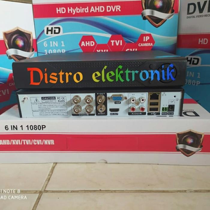 Foto Produk NEW DVR 4 CH XMEYE 6 IN 1 FULL HD 1080P TERBARU H264 H265 dari Distro elektronik