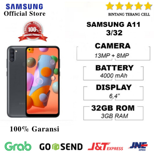 Foto Produk Samsung A11 3/32 Grs resmi SEIN dari Bintang Terang Cell