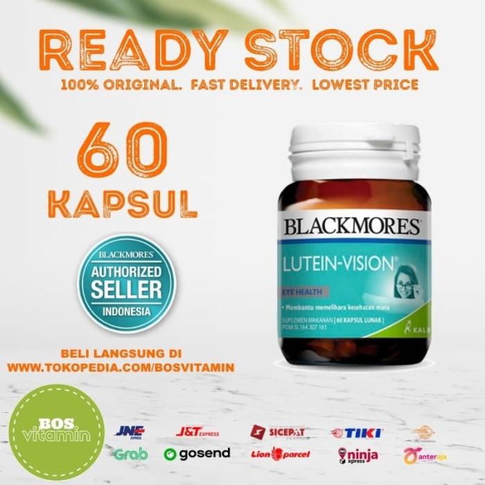 Foto Produk Blackmores Lutein Vision BPOM Kalbe - 60 kapsul dari Bos Vitamin