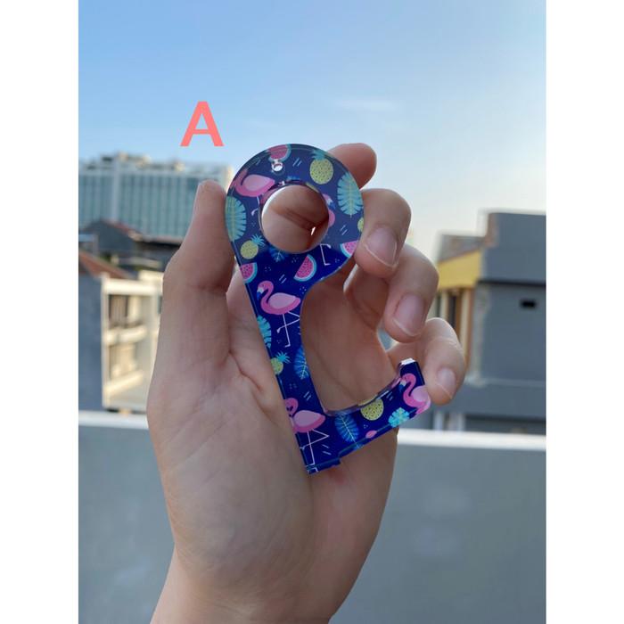 Foto Produk CoFing Corona Finger Alat Anti Corona Zero Contact Tool Pintu Lift LE - A dari Glitz Indonesia