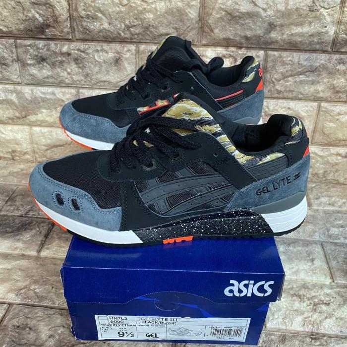Jual Sepatu Asics Gel-lyte III Black