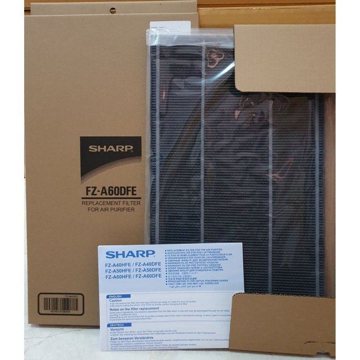 jual deodorizing filter air sharp purifier kca60yfz