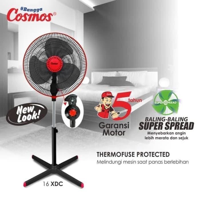 Jual Promo Murah Stand Fan 16 Cosmos 16 Xdc Kota Semarang Elektronik Murah Semarang Tokopedia