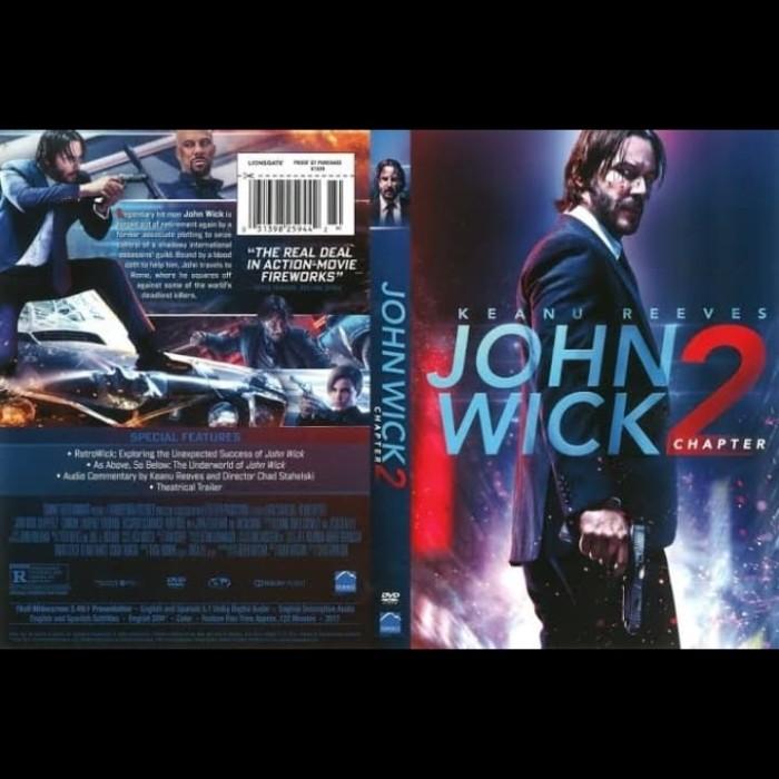 Jual Dvd Film John Wick Chapter 2 2017 Jakarta Barat Passtilaku Store Tokopedia