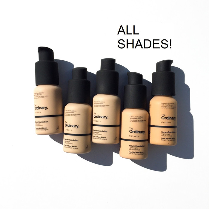 Jual The Ordinary Serum Foundation 2 1 Y Medium 3 1 R Jakarta Barat Beaut De Calypso Tokopedia