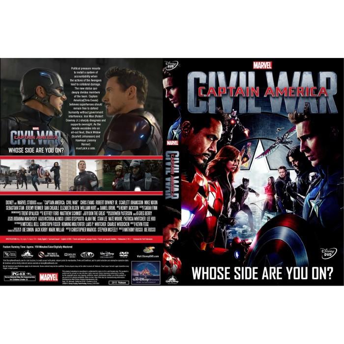 Jual Dvd Film Captain America Civil War 2016 Gratis 1 Jakarta Barat Laris Jaya Glodok Tokopedia