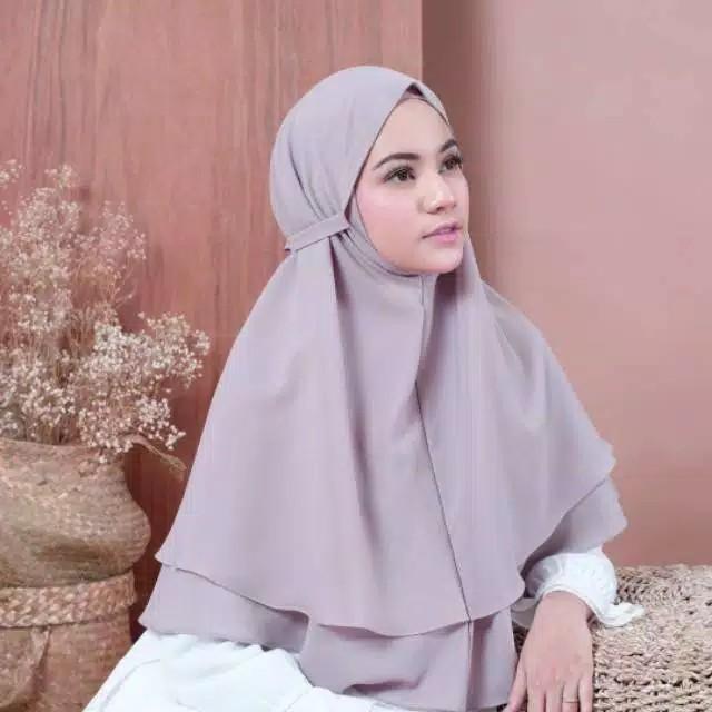 Jual Bergo Maryam 2 Layer 2 Lapis Khimar Jilbab Hijab Diamond Termurah Jakarta Timur Dianrahmaanto Mall Tokopedia