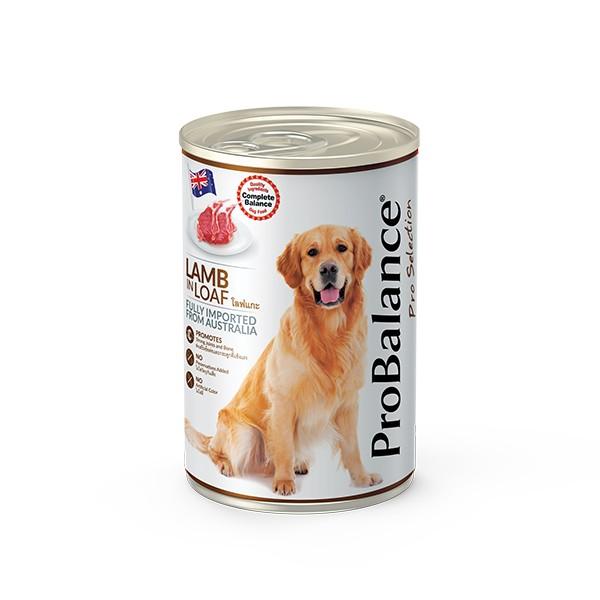 Foto Produk probalance 700 gr dog lamb in loaf dari F.J. Pet Shop