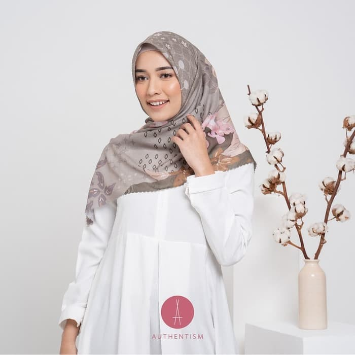 Jual Tutorial Hijab Bahan Segiempat Voal Kota Surabaya Riverdestro Tokopedia