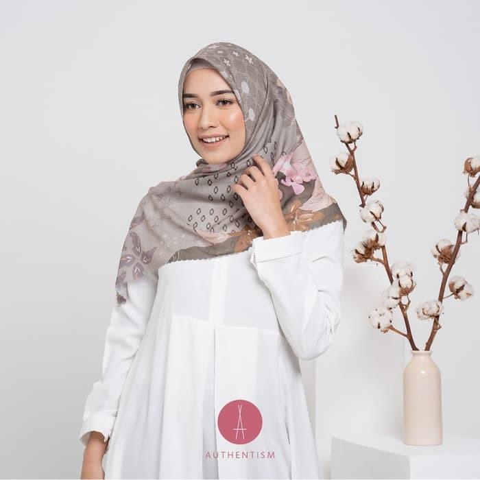 Jual Tutorial Hijab Berbahan Segiempat Voal Kota Surabaya Riverdestro Tokopedia