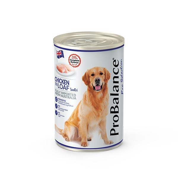 Foto Produk probalance 700 gr dog chicken in loaf dari F.J. Pet Shop