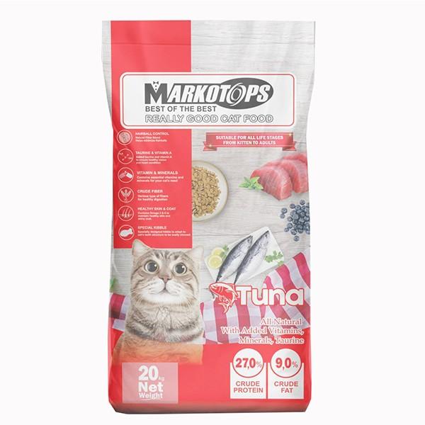 Foto Produk markotops 20 kg cat tuna kibble ikan dari F.J. Pet Shop