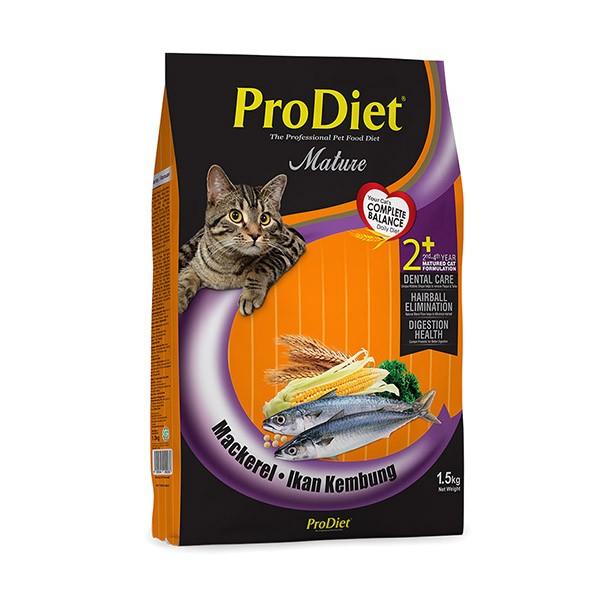 Foto Produk pro diet 1.5 kg cat mackerel dari F.J. Pet Shop